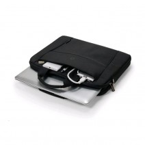 Dicota Slim Case Base - 13-14.1 In Notebook Case - Black / Polyester