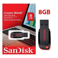 SANDISK 8GB CRUZER BLADE FLASH