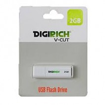 Digirich 2GB USB Flash Drive White