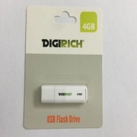 Digirich 4GB USB Flash Drive White