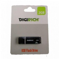 Digirich 2GB USB Flash Drive Black